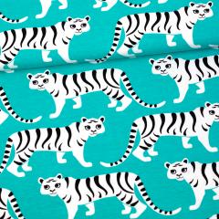 Tiikeriparaati trikoo, turkoosi