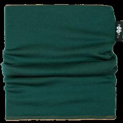TUUBIHUIVI - merinovilla, tummanvihreä