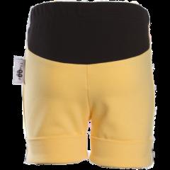 TUOMI shortsit, keltainen-musta
