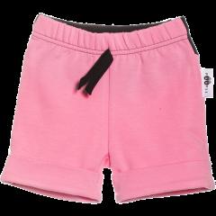 TUOMI shortsit, vaaleanpunainen-musta