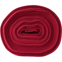 Organic ribbing, red