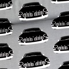 Vintage autot trikoo, harmaa