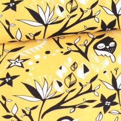 Aamulintu trikoo, keltainen