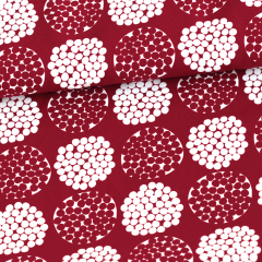 Mini Rubus cotton, red