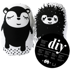 DIY Siiri & Myyry, black & white