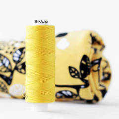 Sewing thread, yellow