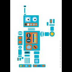 Juliste A3,  Robotti