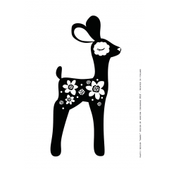 Juliste A4,  Bambi