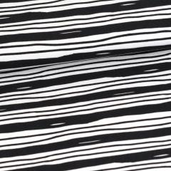 Virtanen trikoo, mustavalkoinen