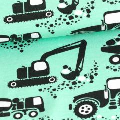 Machines organic jersey, mint