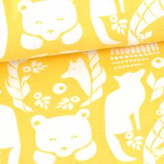 Gates of Pohjola organic jersey, yellow