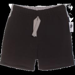KAARI shortsit, musta - harmaa