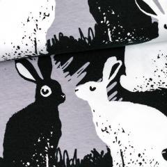 Rabbits organic jersey, grey