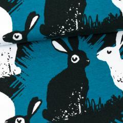 Rabbits organic jersey, petrol