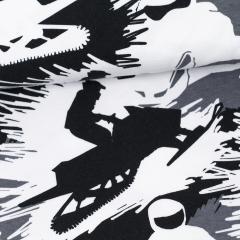 Snowmobiles organic jersey, dark grey