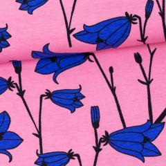 Kissankello trikoo, vaaleanpunainen - sininen