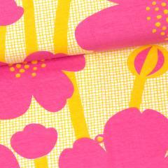 Niittyleinikki trikoo, pinkki - aurinko