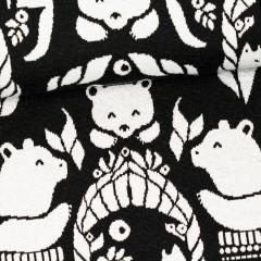 Jacquard knit,  Gates of Pohjola