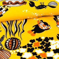 Myyry sukeltaa trikoo, aurinko - oranssi