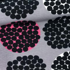 Rubus organic jersey, grey - pink