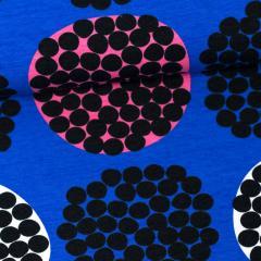 Rubus organic jersey, blue - pink