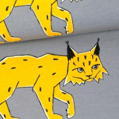 Lynx organic jersey, grey - sun