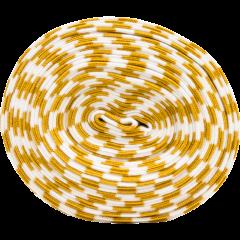 Organic ribbing, ochre - white
