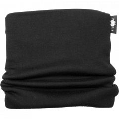 TUUBIHUIVI - merinovilla, musta