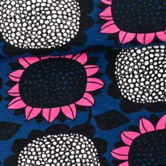 Sunflower organic jersey, blueberry - pink