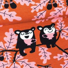 Tammi trikoo, ruoste - vaaleanpunainen