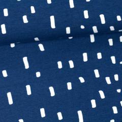 Rain organic jersey, blueberry