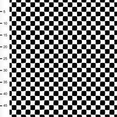 Checkers trikoo, mustavalkoinen