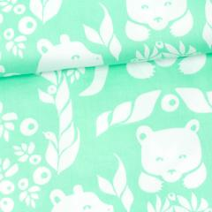 Gates of Pohjola organic cotton sateen, mint