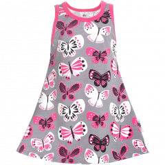 HELINÄ dress,  Butterflies
