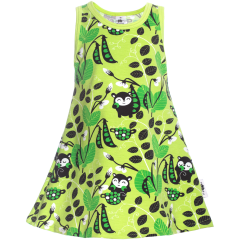 HELINÄ dress,  Peas