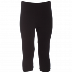 HENNI capri leggings, black