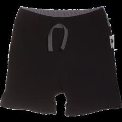 KAARI shortsit, musta - tummanharmaa.