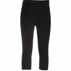 ELLEN capri leggings, black